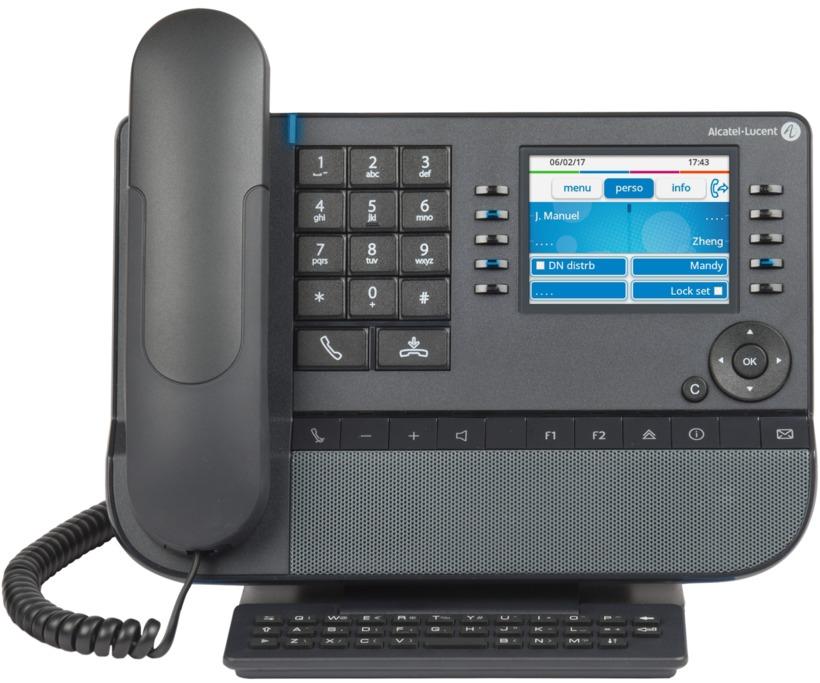 Alcatel-Lucent 8058s Premium DeskPhone | Systemhaus TeleTech Berlin und Brandenburg