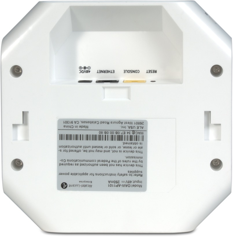 Alcatel-Lucent OAW-AP1101 Access Point (OAW-AP1101-RW)rück