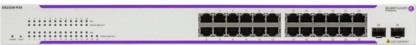 Alcatel-Lucent OS2220-P24 PoE Switch (OS2220-P24-EU) 1