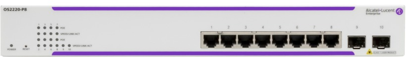 Alcatel-Lucent OS2220-P8 PoE Switch (OS2220-P8-EU) 3