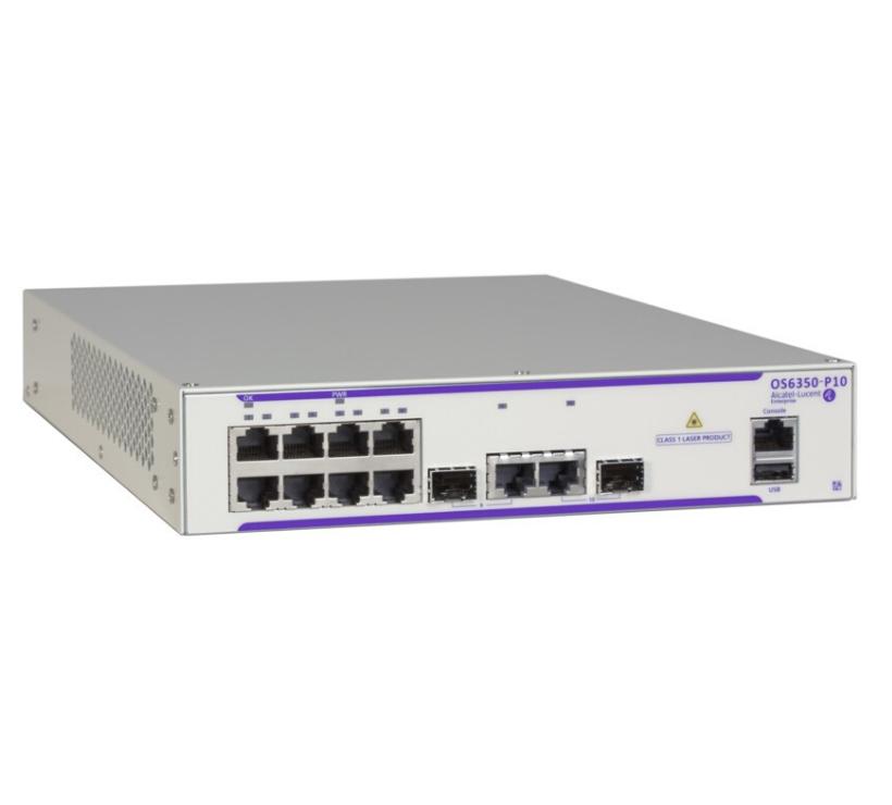 Alcatel-Lucent OS6350-P10 PoE Switch | Systemhaus TeleTech Berlin und Brandenburg