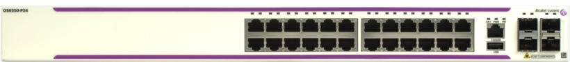 Alcatel-Lucent OS6350-P24 PoE Switch (OS6350-P24-EU) 1