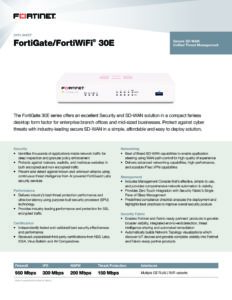 Fortinet FortiGate-30E Firewall (FG-30E-EU) 3   Systemhaus TeleTech Zossen, Berlin   Alcatel-Lucent, HPE, Lancom