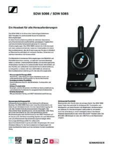 Sennheiser SDW 5066 Headset Duo (507022) 3 | Systemhaus TeleTech Zossen, Berlin | Alcatel-Lucent, HPE, Lancom