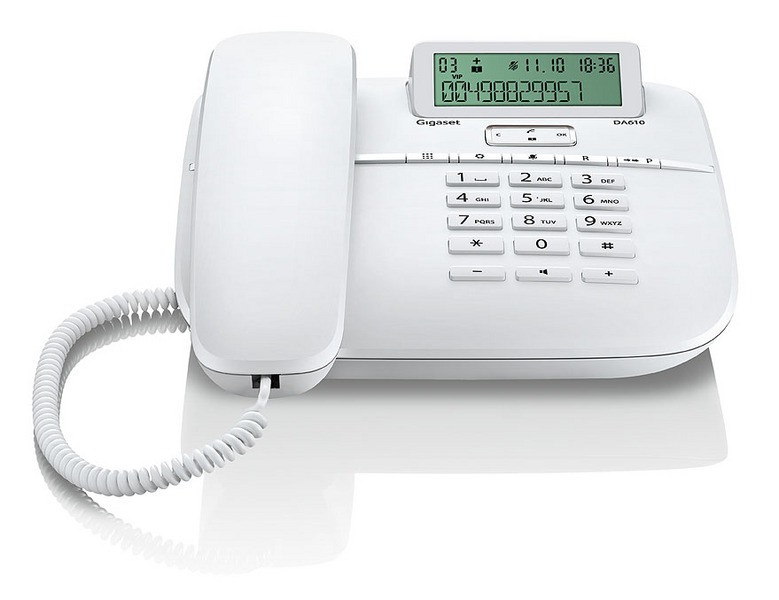 Gigaset DA610 analog Desktop Telefon (S30350-S212-B102) 2