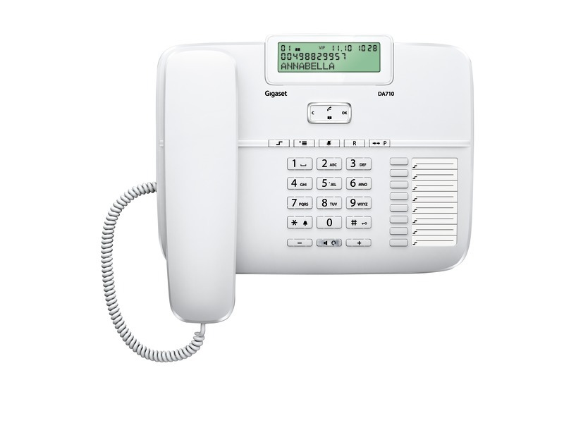 Gigaset DA710 analog Desktop Telefon (S30350-S213-B102) 3