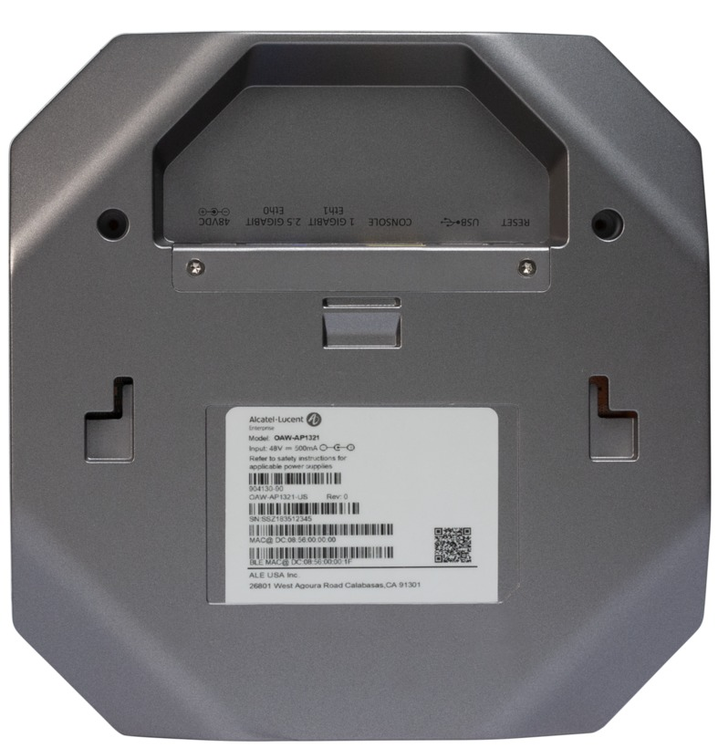 Alcatel-Lucent OAW-AP1321 Access Point (OAW-AP1321-RW) rückseite