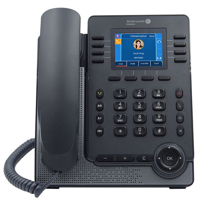 Alcatel-Lucent M5 SIP DeskPhone (3MK27002AA)2