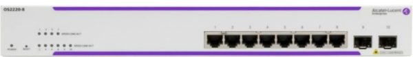 Alcatel-Lucent OS2220-8 Switch | Systemhaus TeleTech Berlin und Brandenburg