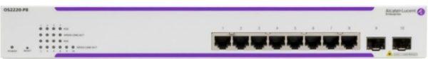 Alcatel-Lucent OS2220-P8 PoE Switch | Systemhaus TeleTech Berlin und Brandenburg